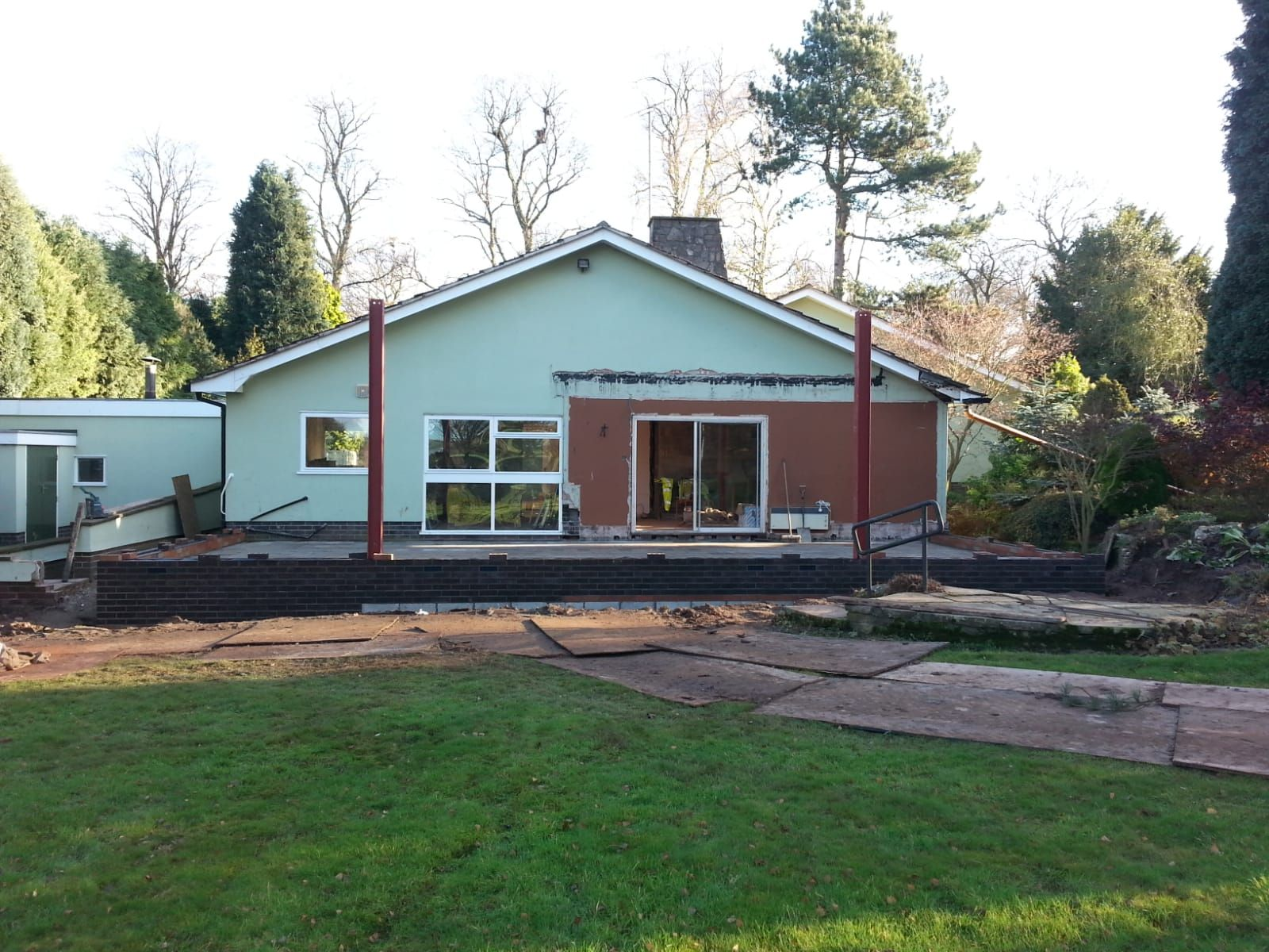 Bungalow before extension