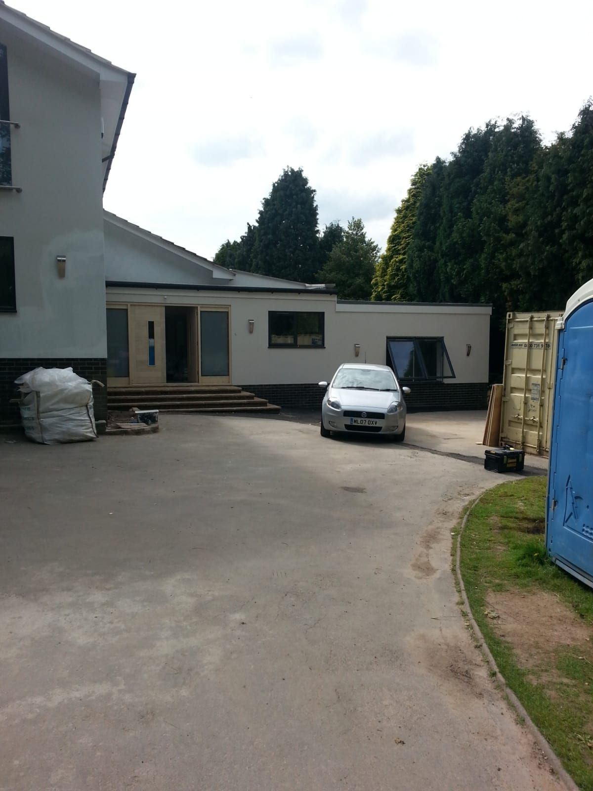 Four bed bungalow before being converted into 7 bed house