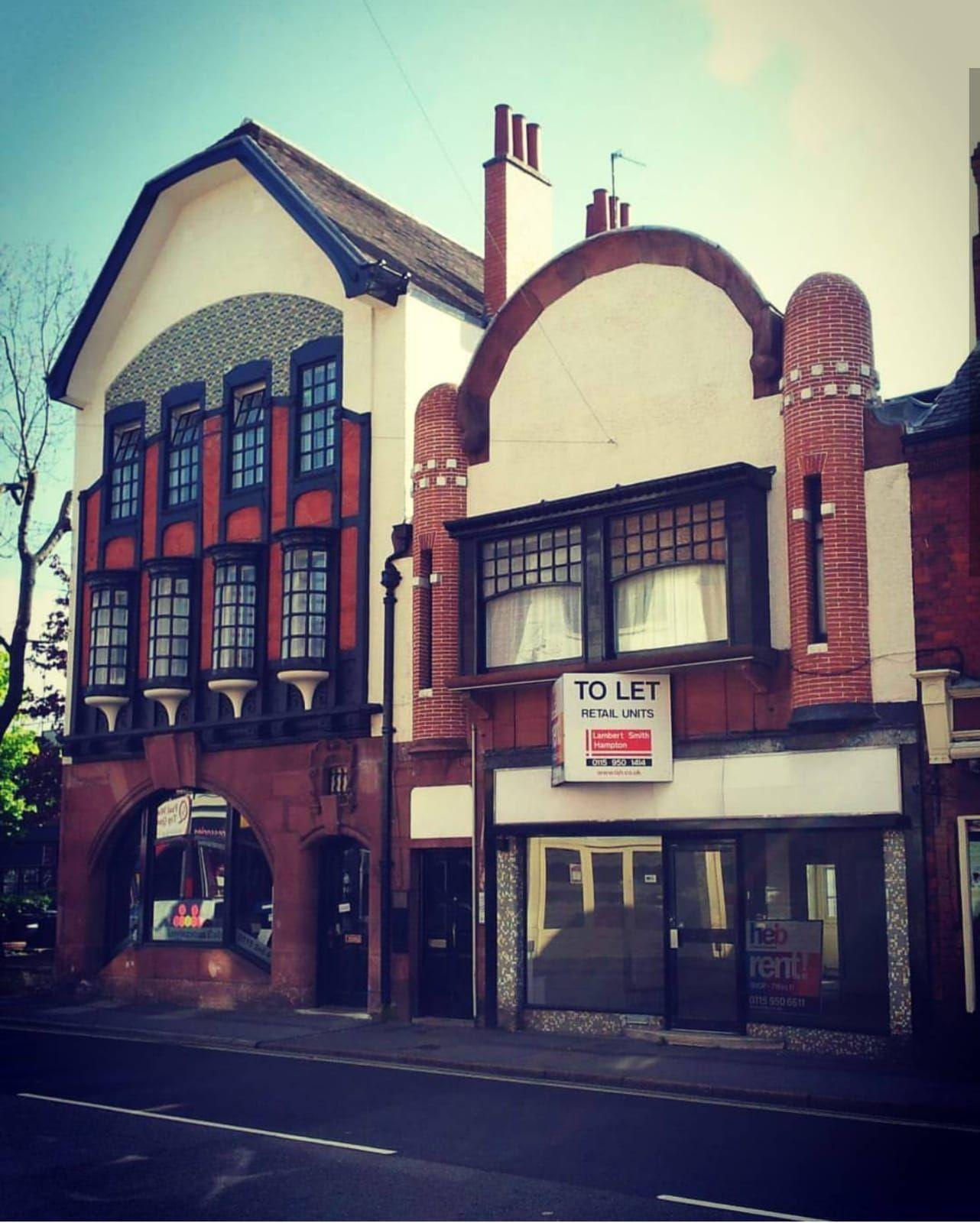 Fully restored Victorian building