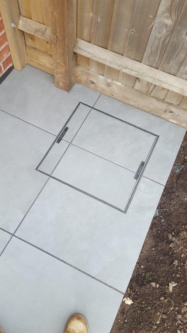 procelain slab manhole cover