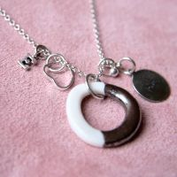 Love necklace with initial
