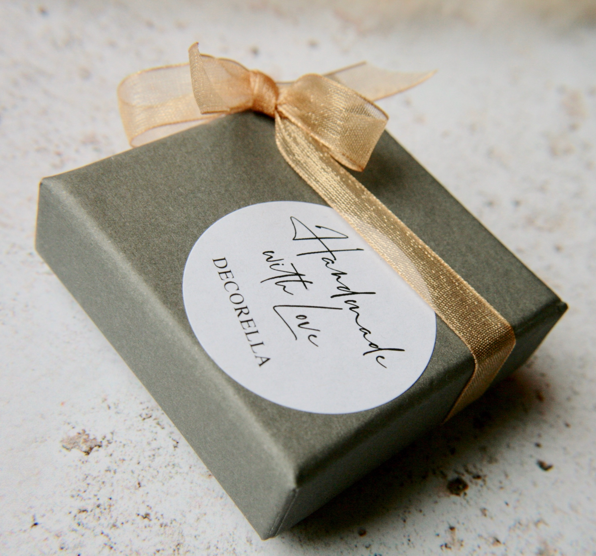 small grey jewellery box