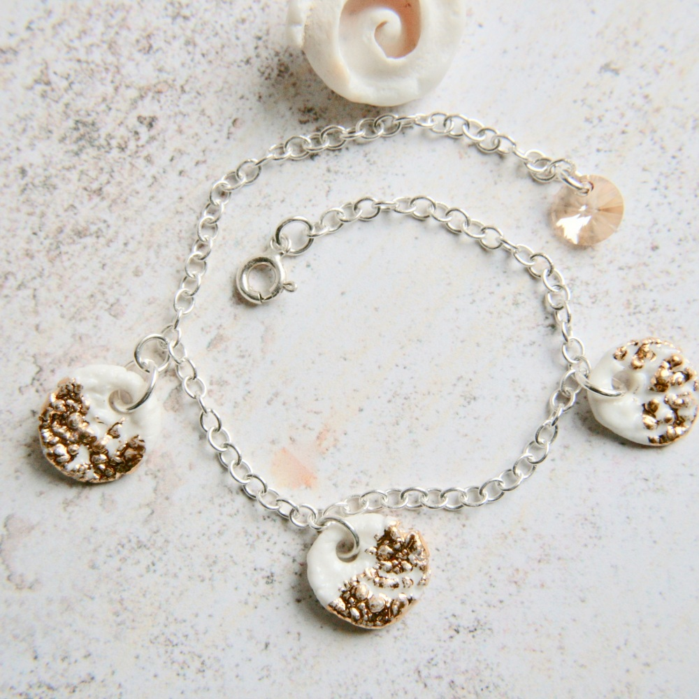 Sterling silver bracelet perfect for the summer!