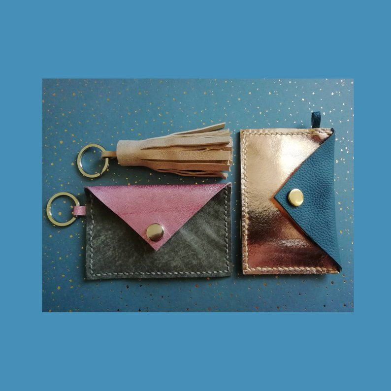 card holder and keyring workshop