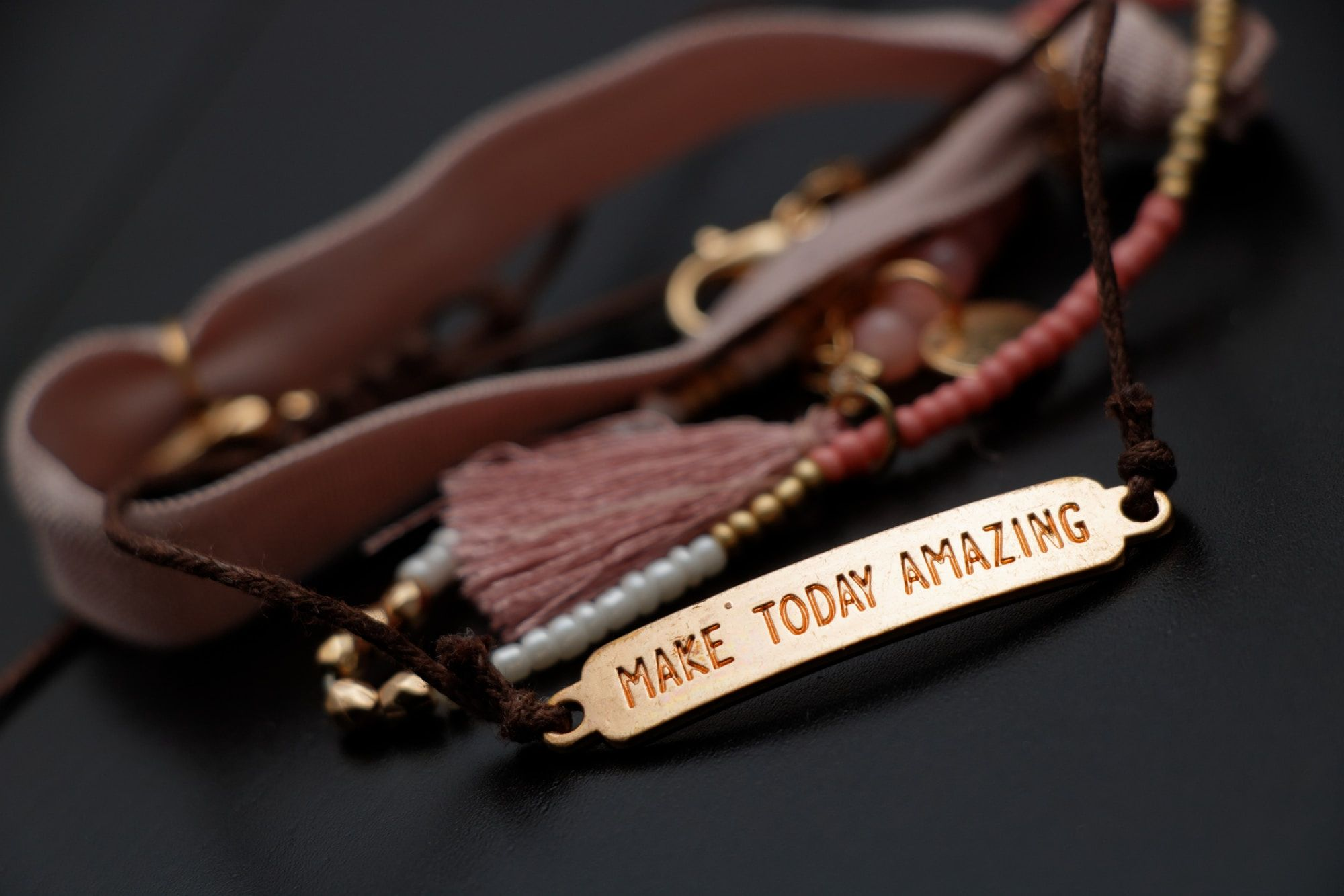 leather stamped jewellery making workshop