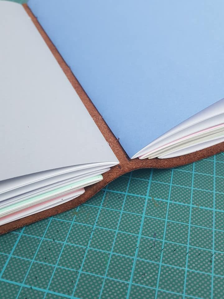 make a leather journal