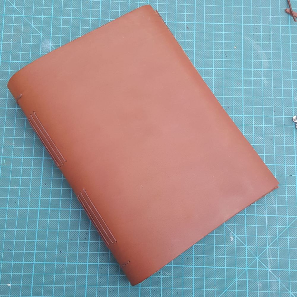 A5 Long Stitch Leather Journal Kit
