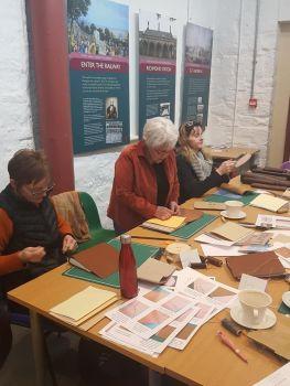 long stitch journal workshops