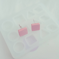 Little Earrings Moulds  Square | Circle | Triangles