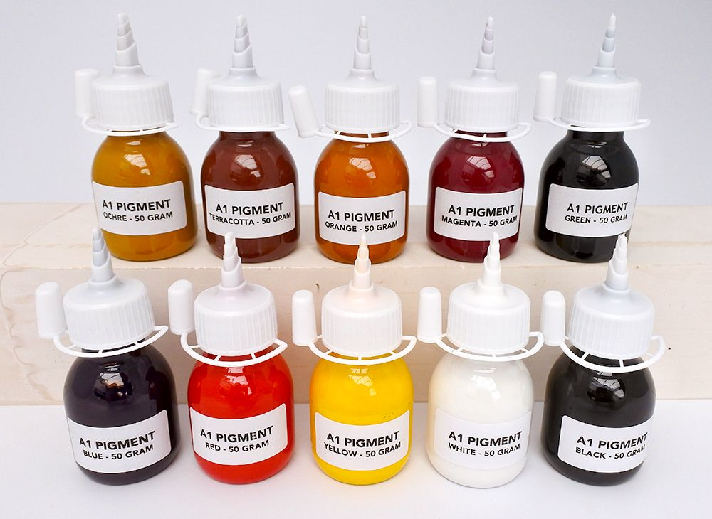 Eco-Resin Colour Pigment Set