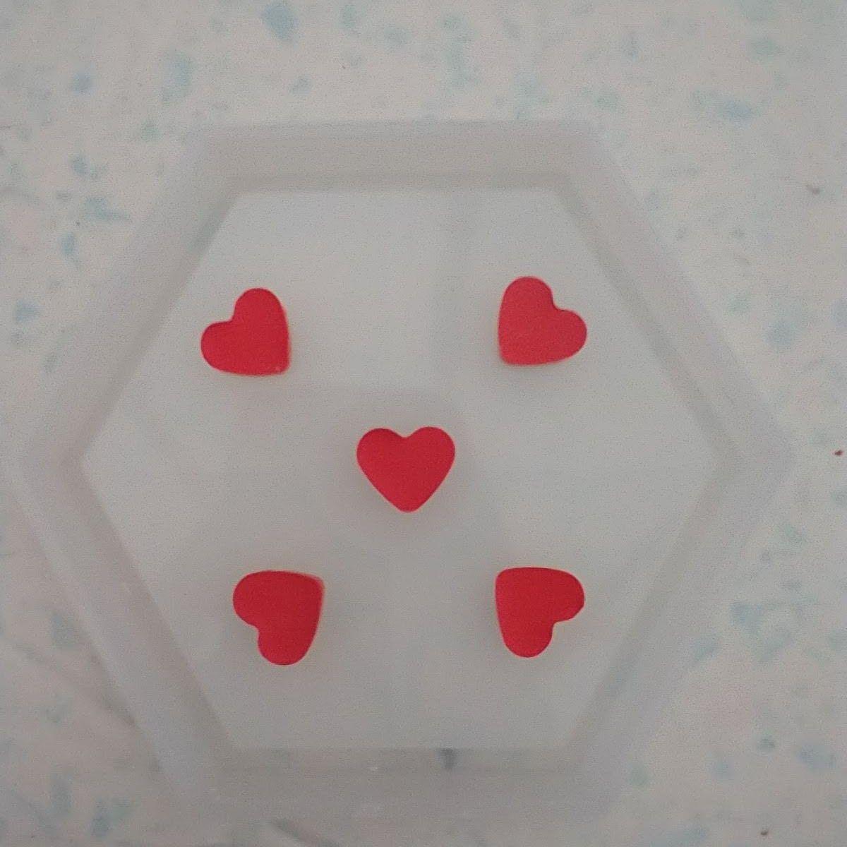 heart motif coaster tutorial