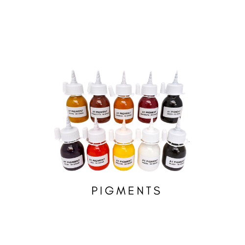 Colour Pigments for Acrylic One, Jesmsonite and eco-resin