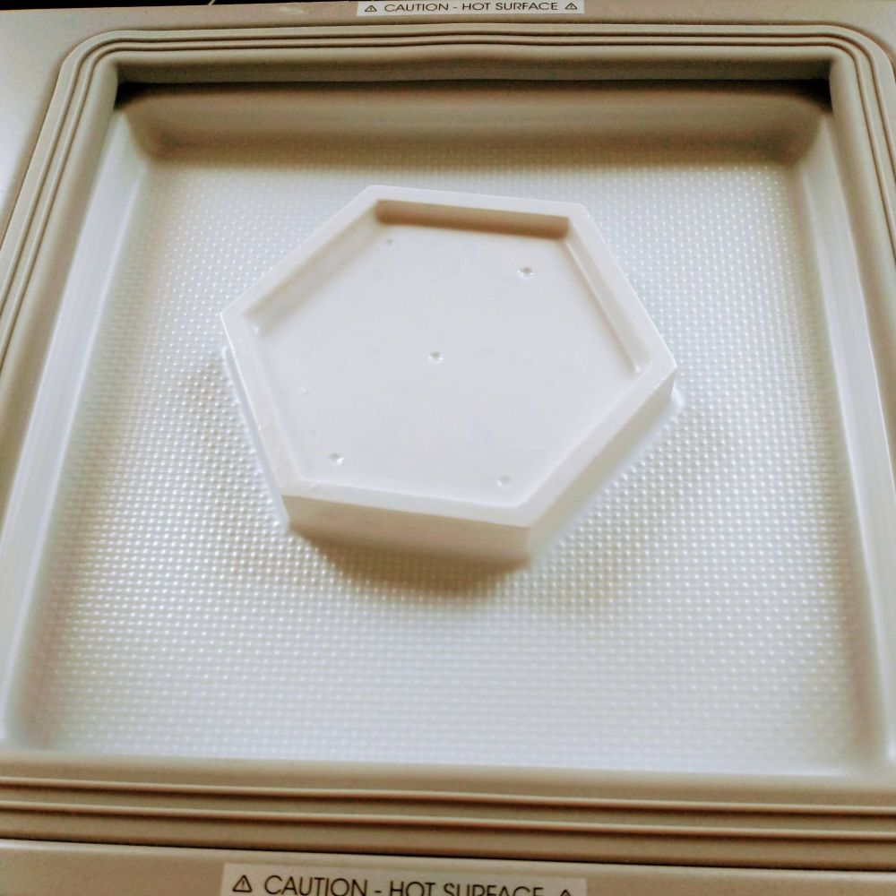 Hexagon Vacuum Formed Mould