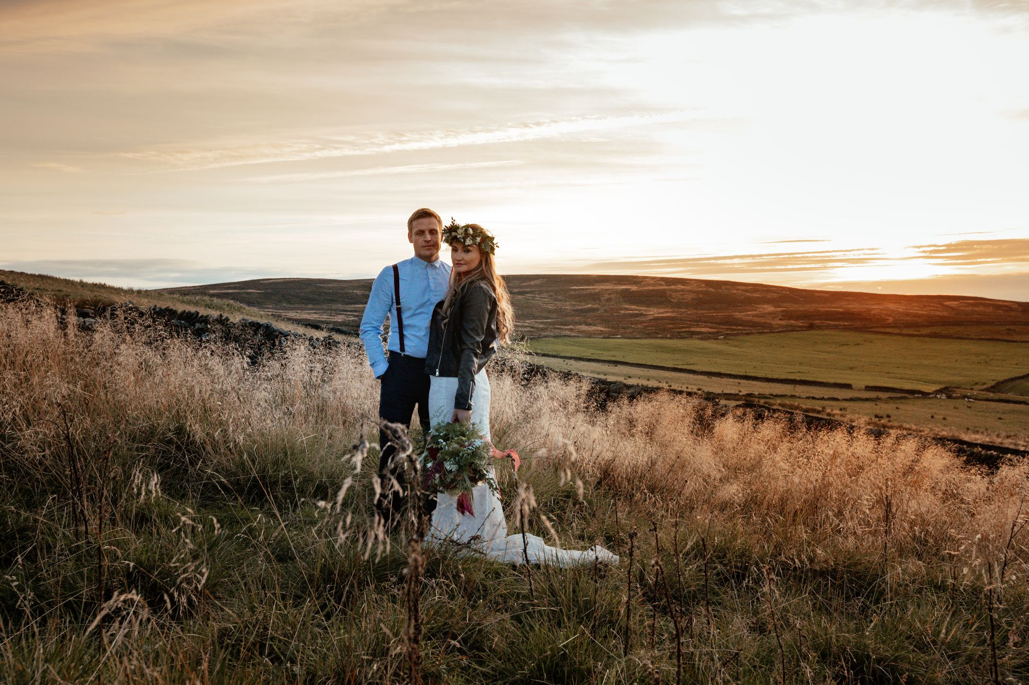 stunning yorkshire wedding