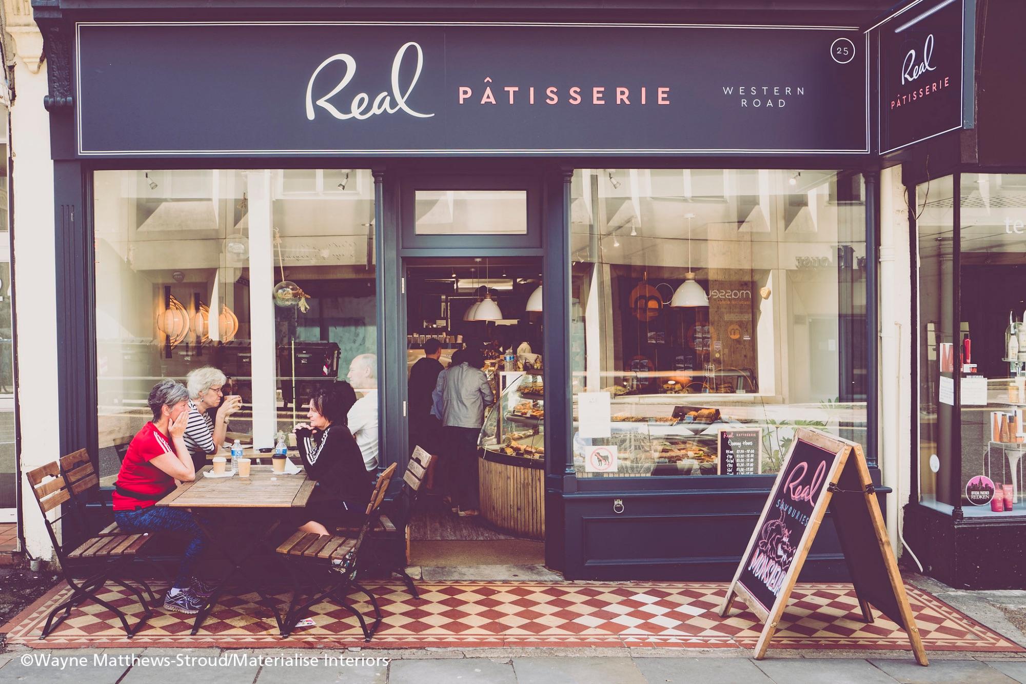 RealPatisserie Western Road_shopfront photo Wayne Matthews-Stroud