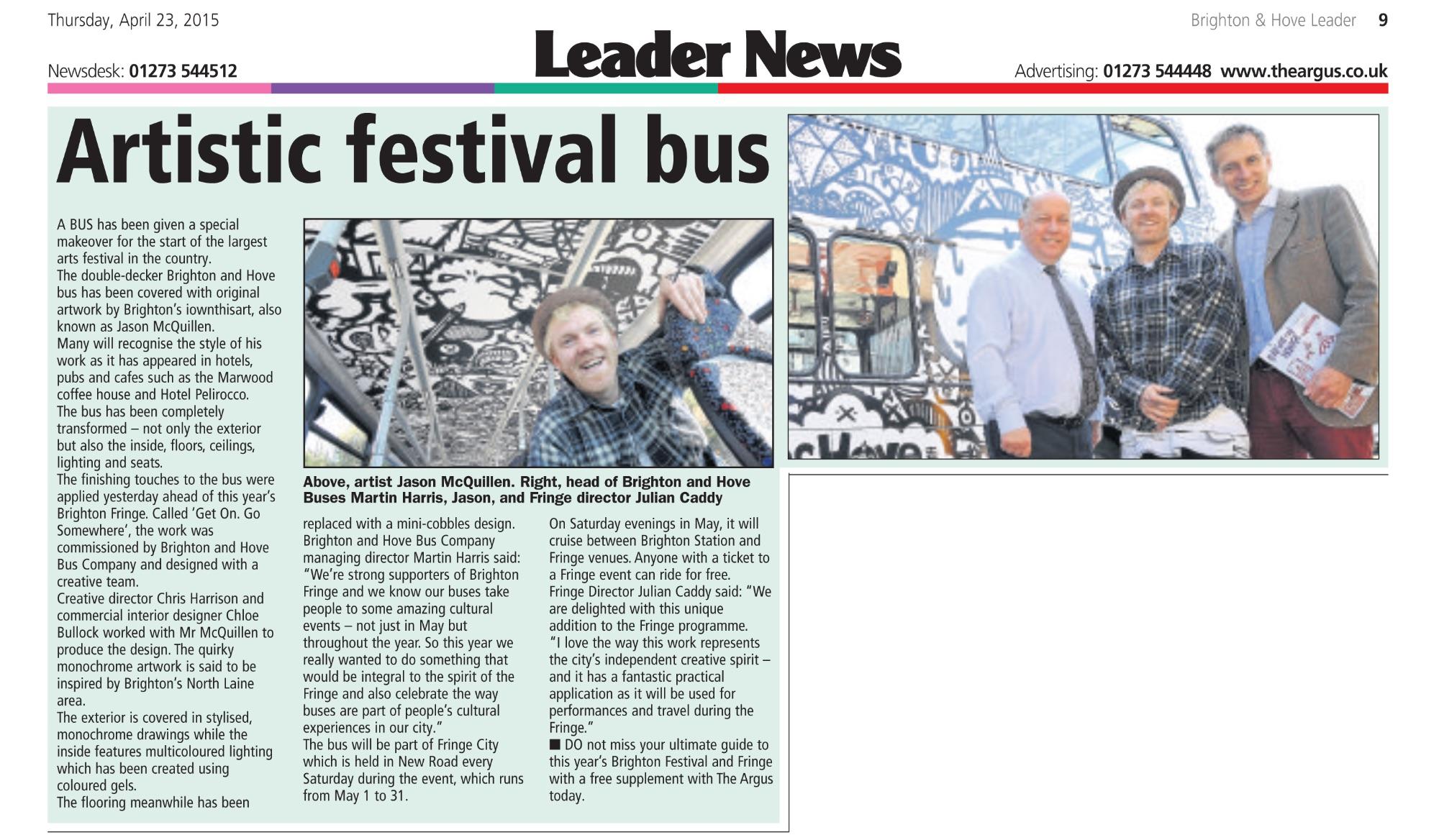 'Brighton and Hove Leader'
