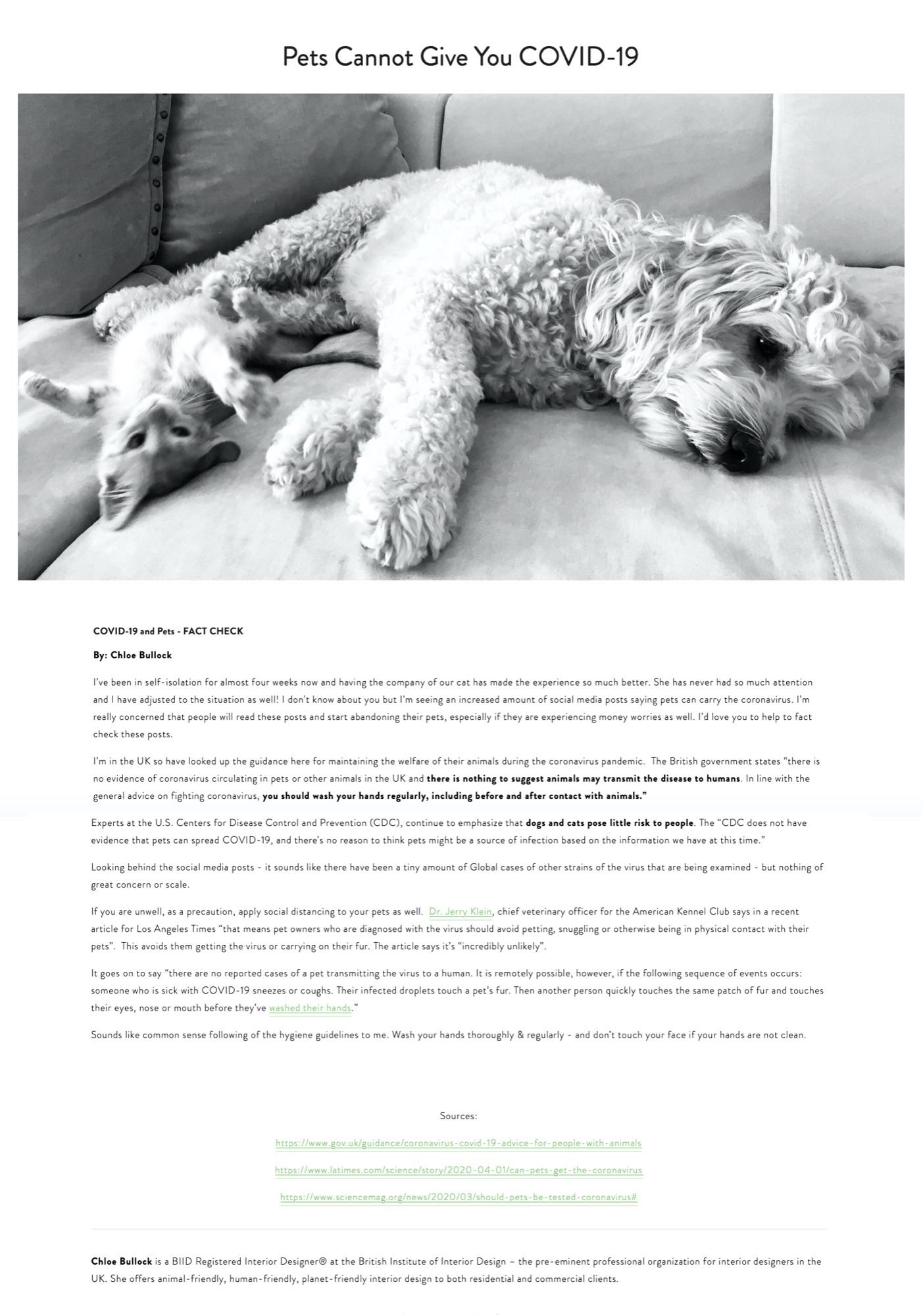Vegan Design.org April  2020