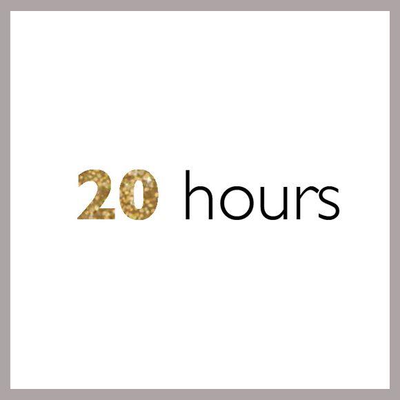 20 hour bundle