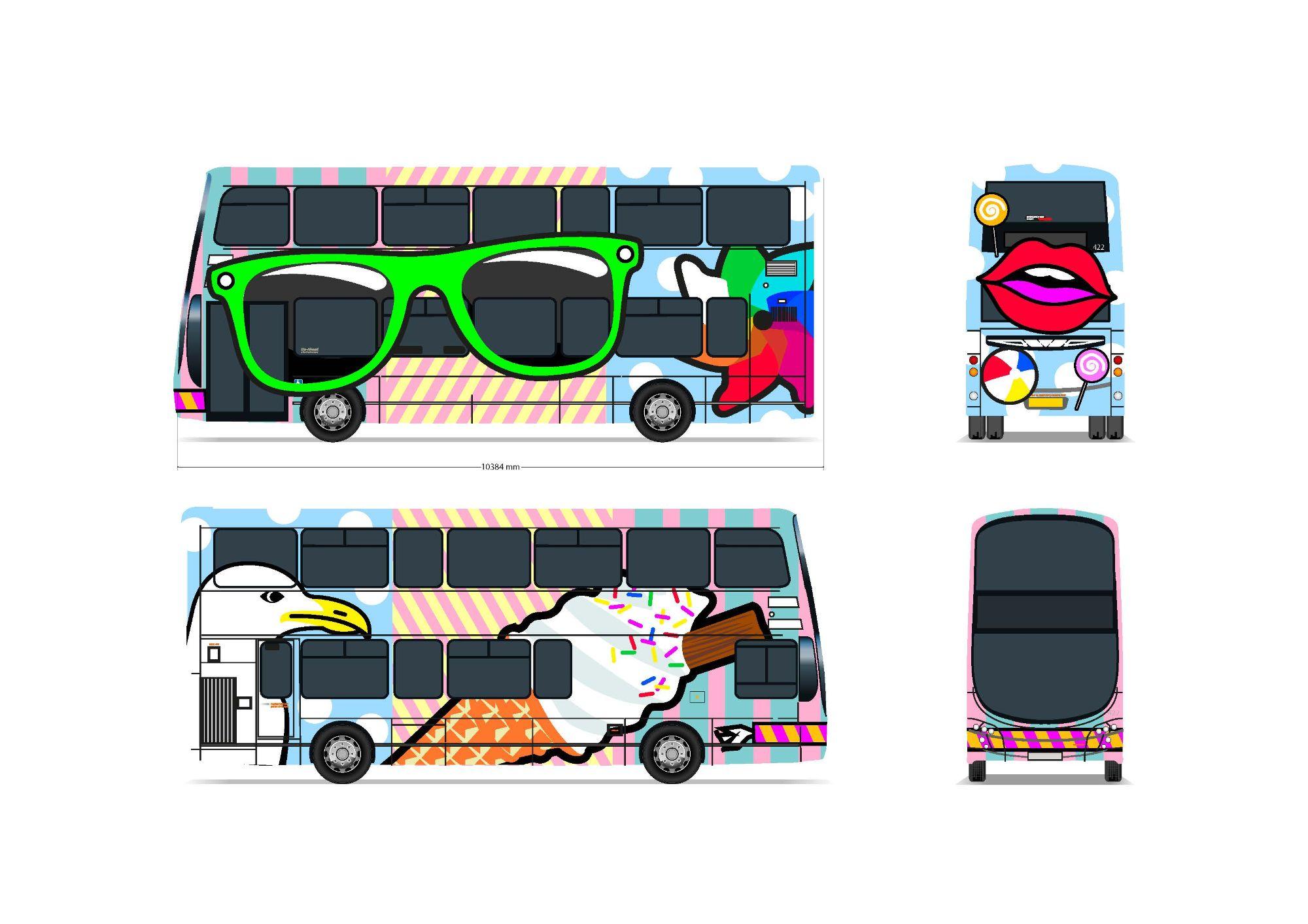 Beach Bus presentation work in progress