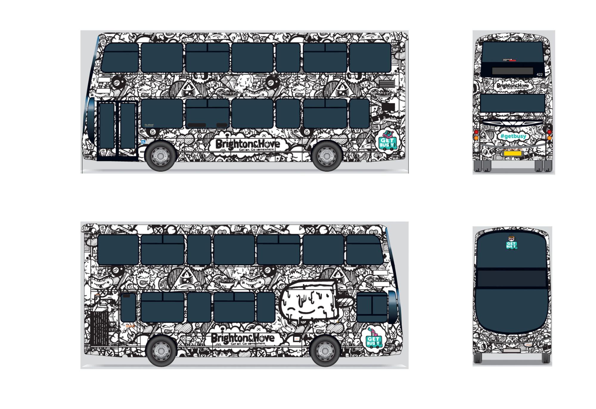 North Laine bus wrap