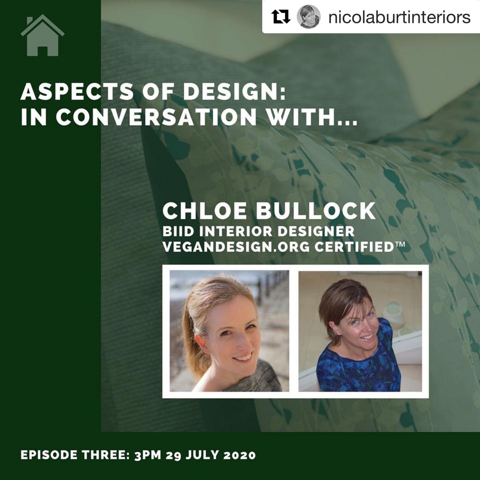 Nicola Burt Interiors interview on vegan and sustainable design