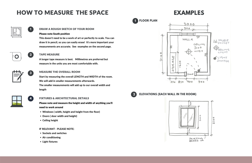 How to measure the space