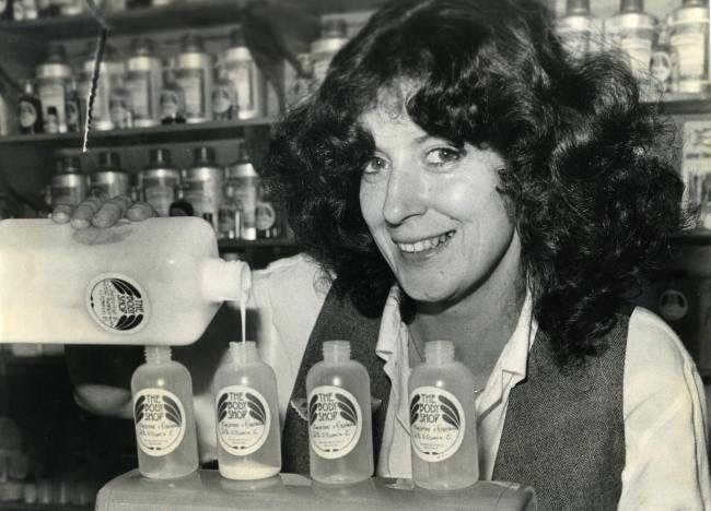 Anita Roddick, Brighton's The Argus The Body Shop International