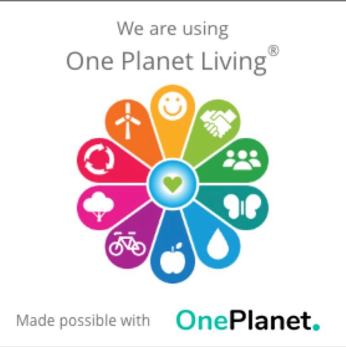 One Planet Living advice on using fewer planets