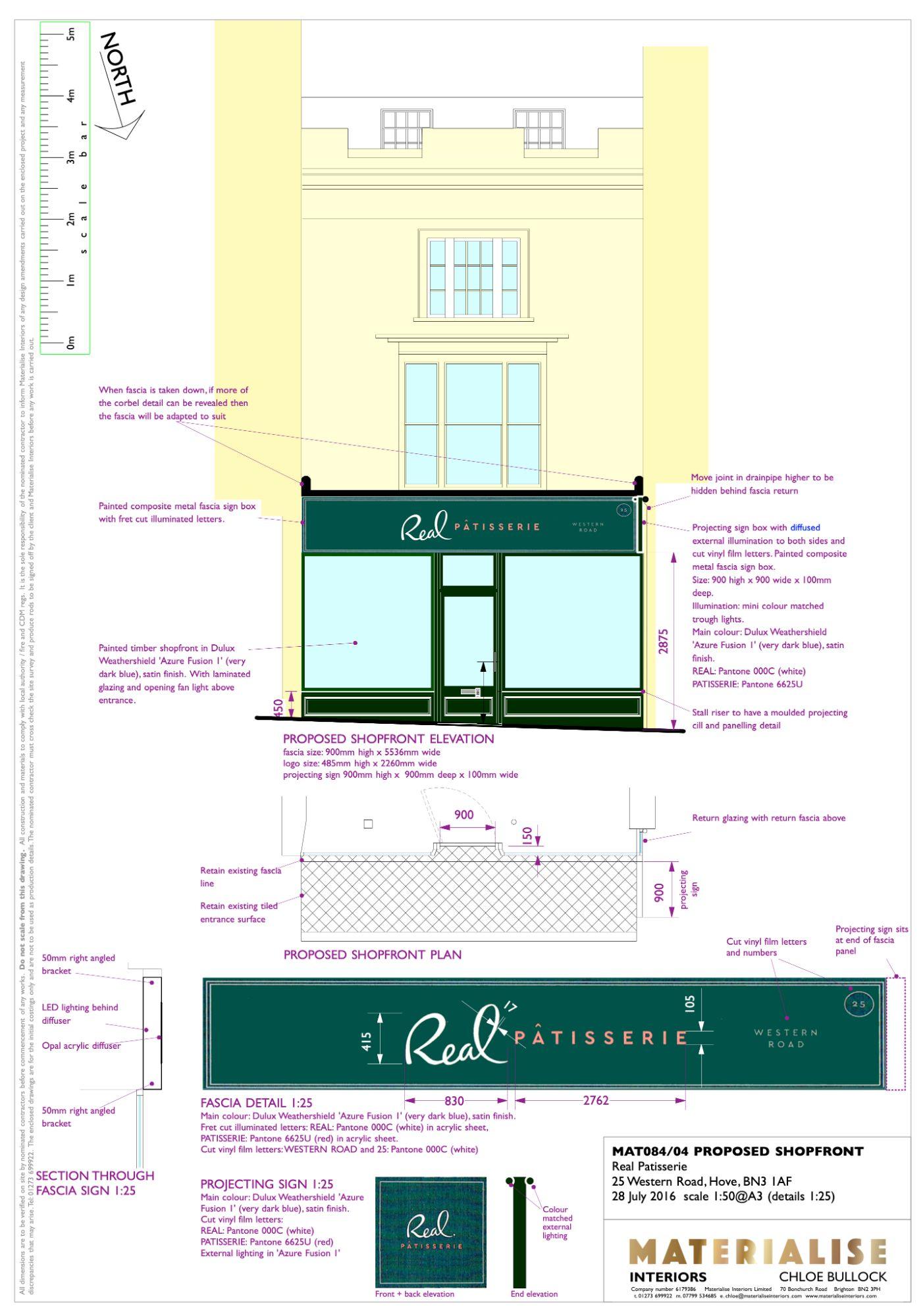 Shopfront drawing