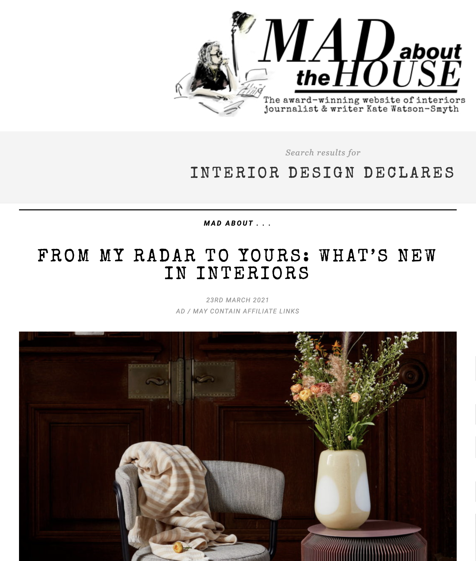 Mad About The House April 21