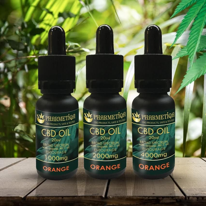 CBD Oil - Orange Flavour