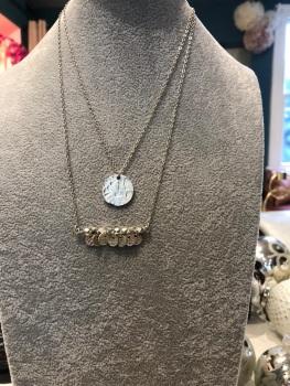Ashiana Greek island necklace silver