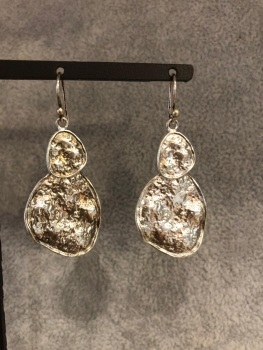 Double coin earring