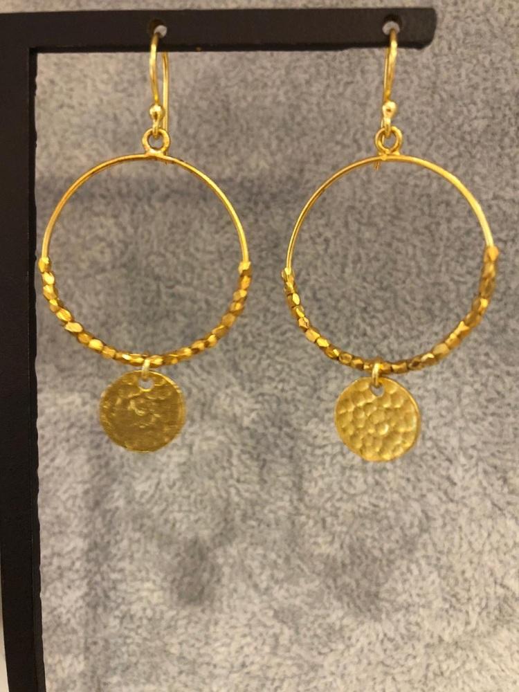 Mini hoop earrings
