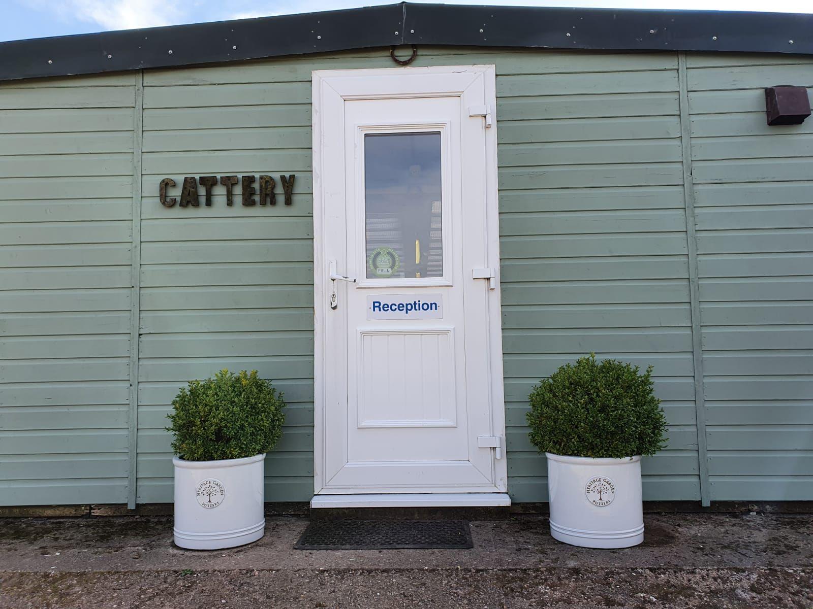 Kingstone Pet Boarding cattery entrance