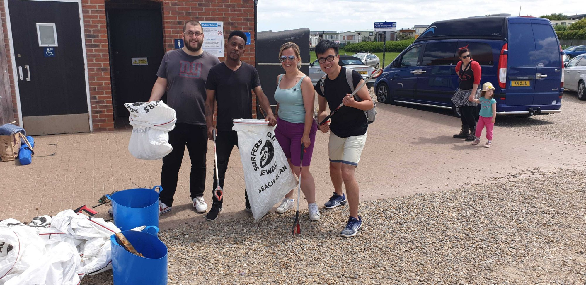 norwich beach clean