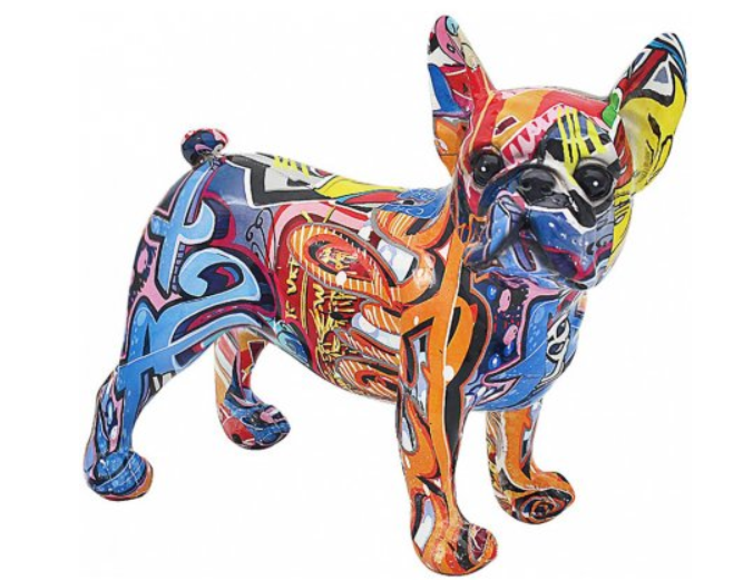 GRAFFITI FRENCH BULL DOG