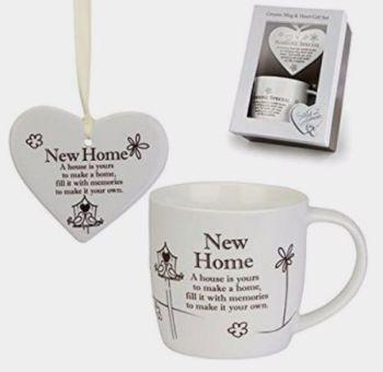 New Home Arora Said with Sentiment Mug Gift Set