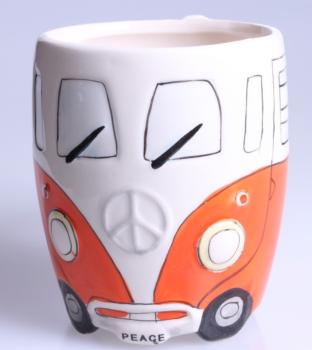Camper Van Mug - Orange
