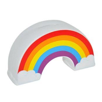 Rainbow Ceramic Money Box Birthday Christmas Gift