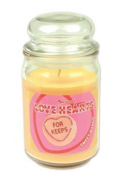 Swizzels Love Hearts Scented Candle (453g) Sweet Mango