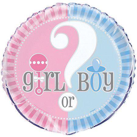 Boy or Girl Foil Balloon