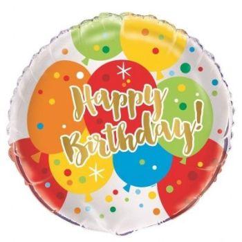 Happy Birthday Foil Balloon