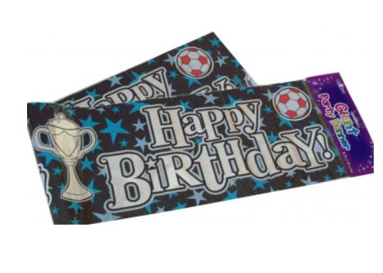 Giant Happy Birthday It's Your Birthday Banner