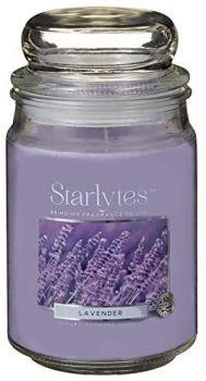 Starlytes Large Jar Candle (454g) Lavender