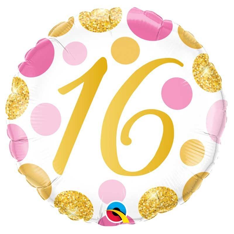 16th Foil Balloon Spots