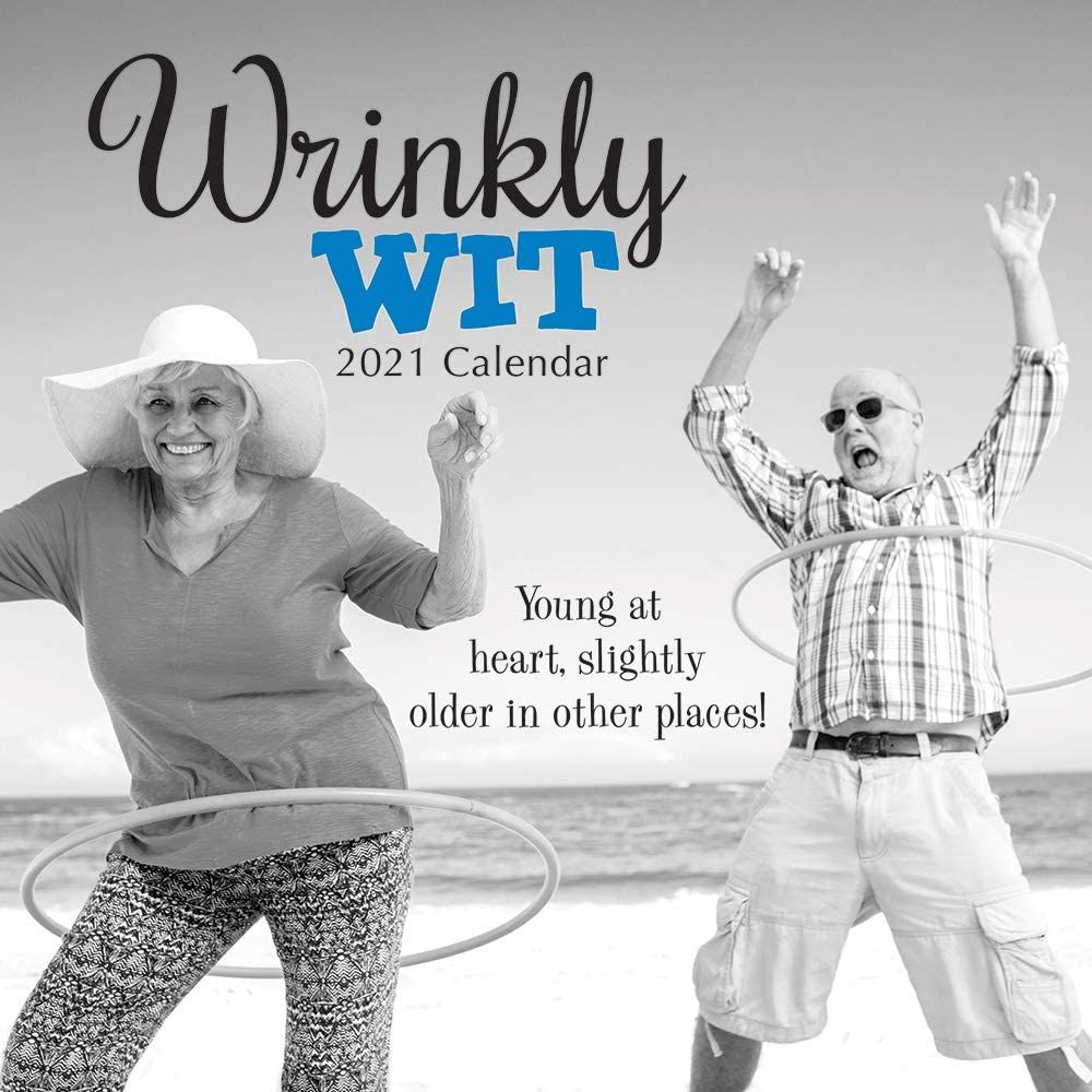 Wrinkly Wit 2021 - 16 Month Square Wall Calendar
