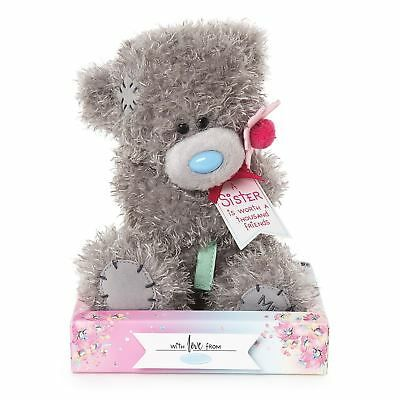 Me To You Sister With Flower Tatty Teddy Bear