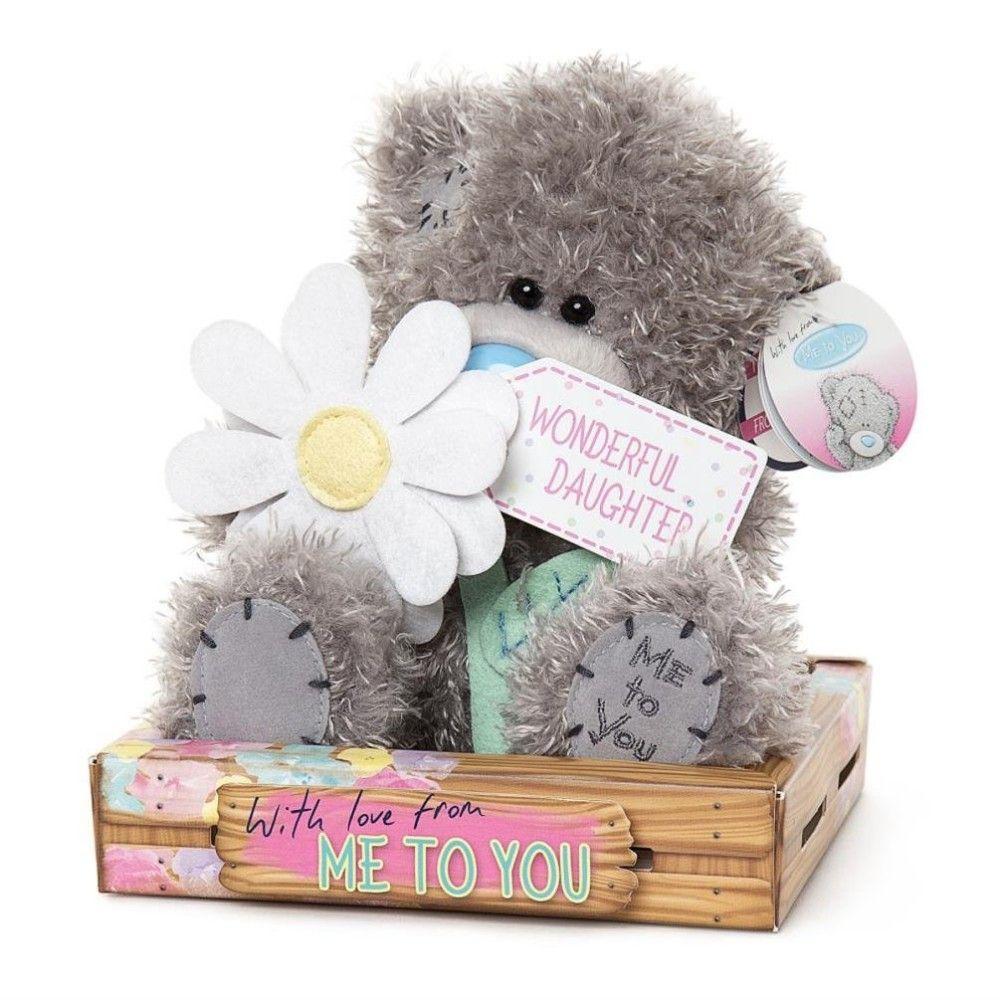 Me To You Wonderful Daughter With Flower Tatty Teddy Bear
