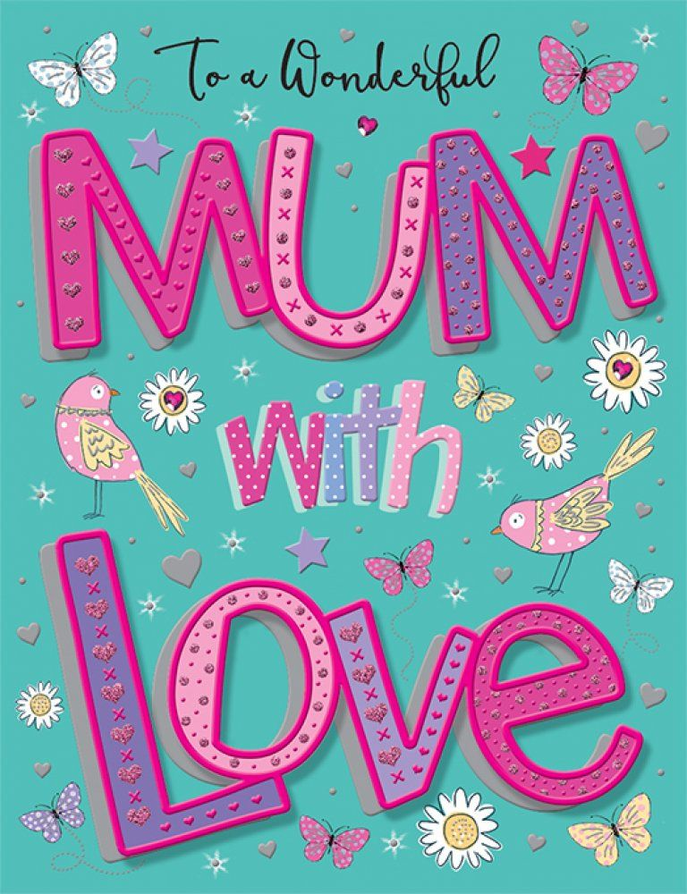 To A Wonderful Mum With Love